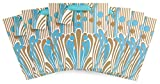 The Gift Wrap Company Florence Broadhurst Tall Gift Bags (Set of 6), French Fountain, Medium, Multicolor