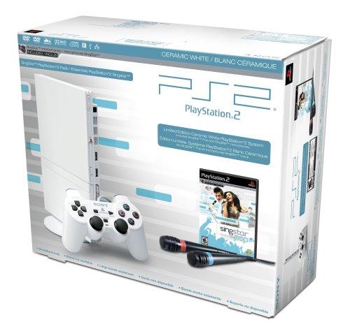 PlayStation 2 SingStar Bundle - Ceramic White