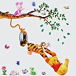 Winnie l'Ourson - Stickers muraux - C...
