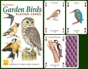 Garden Birds Playing Cards