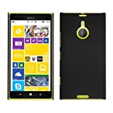 CUBIX Ultra Thin Rubberized Matte Hard Case Back Cover For Nokia Lumia 1520 (Black)