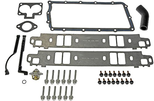 APDTY 726421 Intake Manifold Upper & Lower Gasket Kit For Dodge & Jeep 5.2L & 5.9L Engines (Includes Bolts & New Thermostat)(4897383AC) (1995 Dodge Ram 1500 Intake compare prices)