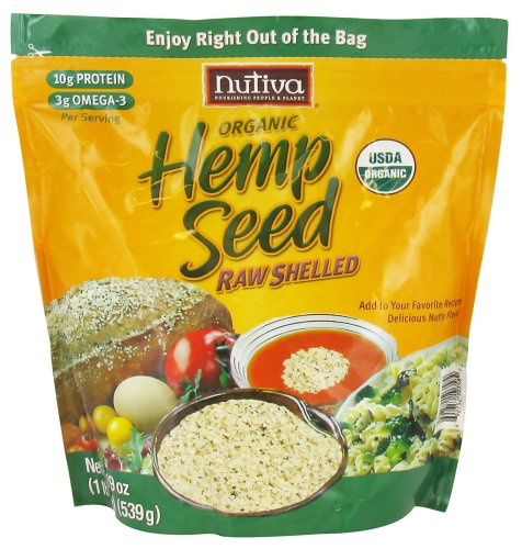 Nutiva - Organic Hemp Seed Raw Shelled - 19 oz.