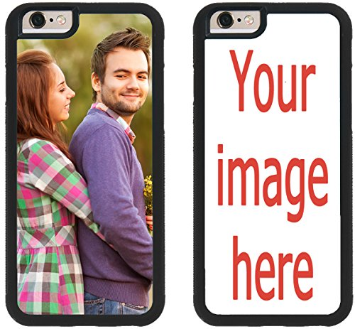 iZERCASE Personalized Custom Picture Phone Case iPhone 6, iPhone 6S, iPhone 6, iPhone 6S PLUS, iPhone 5, iPhone 5S, iPhone 5C, iPhone 4, iPhone 4S Rubber Case YOUR IMAGE HERE YOUR PICTURE HERE (Iphone 4s Custom Case compare prices)