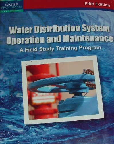 Water Distribution System Operation and Maintenance (A...