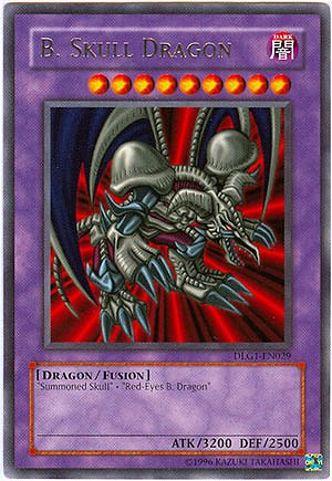 YuGiOh Dark Legends Single Card B. Skull Dragon DLG1-EN029 Rare [Toy]