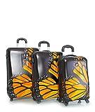 Heys Fashion Spinner 3 Piece Hardside Luggage Set, Monarch