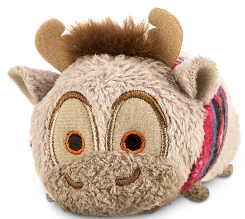 Disney Sven ''Tsum Tsum'' Plush - Frozen - Mini - 3 1/2''