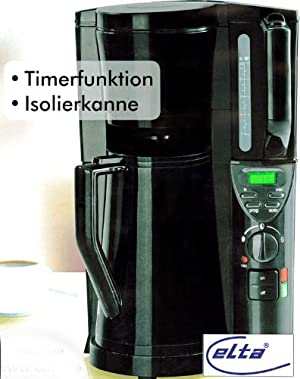 kaffeemaschine mit thermoskanne de kaffeemaschine mit timer und isolierkanne kaffeemaschine mit. Black Bedroom Furniture Sets. Home Design Ideas