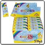 4 Packs of Mini Colouring Pencils (4...
