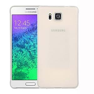 Galaxy Alpha Back cover, Neo Hybrid Slim Series Case LEAF Case Back Cover for Samsung Galaxy Alpha (White)