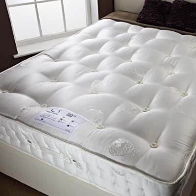 Happy Beds Signature Gold Organic 1800 Pocket Sprung Mattress Bedroom Furniture