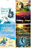 MICHAEL MORPURGO FOUR BOOK SET COLLECTION THE WAR OF JENKINS' EAR / LITTLE MANFRED / ALONE ON A WIDE WIDE SEA / WAITING FOR ANYA MICHAEL MORPURGO
