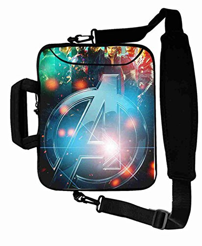 "Protection Customized Series the avengers movie Shoulder Bag For Men (10 Inch) For 9.7""iPad Air 2-iPad 1 2 3 4 5-Samsung Galaxy Tab 3 S T700-Note 10.1-Tab PRO-Google Nexus 10 - CB-10-5663"