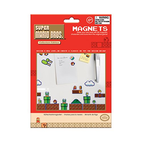Best Prices! Nintendo Super Mario Bros Magnets Collectors Edition