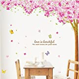 Sakura Butterfly DIY Removable Art Vinyl Quote Wall Sticker Decal Mural Home Room D¨¦cor