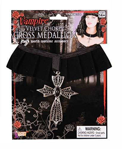 Forum Novelties Women's Velvet Choker Dark World Costume Accessory