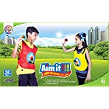Toyztrend Aim It Indoor & Outdoor 2 In 1 Target Game With Velcro Vests And Balls For Kids Ages 3+