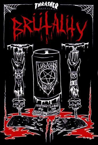 【スケートボード DVD】 BRUTALITY Thrasher Skateboard (ブルータリティ スラッシャー・スケートボード) 輸入版 [DVD]
