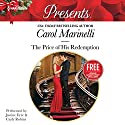 The Price of His Redemption: w/ Bonus Book: Christmas at the Chatsfield Audiobook by Carol Marinelli, Maisey Yates Narrated by Justine Eyre, Carly Robins