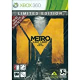 Metro Last Light Limited Edition - XBOX 360 (X3, 2013) Asia Release {REGION FREE} In English