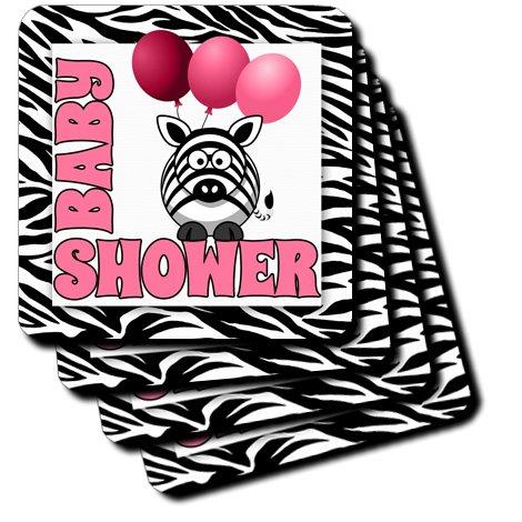 Baby Shower Zebra Print Decorations front-1021689
