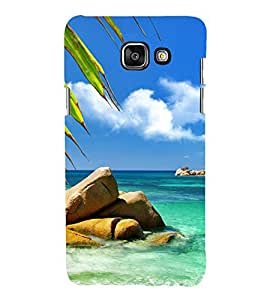 printtech Nature View Beach Back Case Cover for Samsung Galaxy A5 (2016)