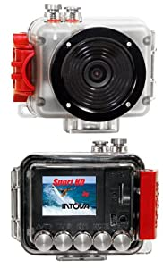 Intova Sport Pro HD Video Camera (Clear/Red)