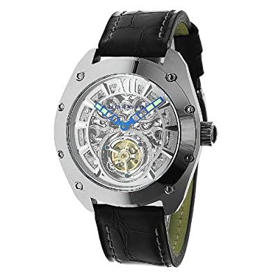 Android Men's AD518AS Virtuoso Tungsten Mechanical Tourbillon Watch: Watches