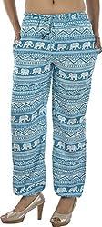 HotShot Women's Polyester Straight Pants (RH008, Large)