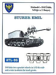 Friulmodel Atl86 1:35 Sturer Emil Metal Track Set Plus Sprockets