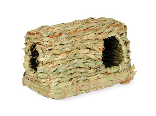 Prevue Hendryx 1096 Nature's Hideaway Grass Hut Toy, Small 51pXwKRefVL