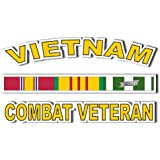 "Vietnam Combat Veteran Window decal 5.5"" Sticker"