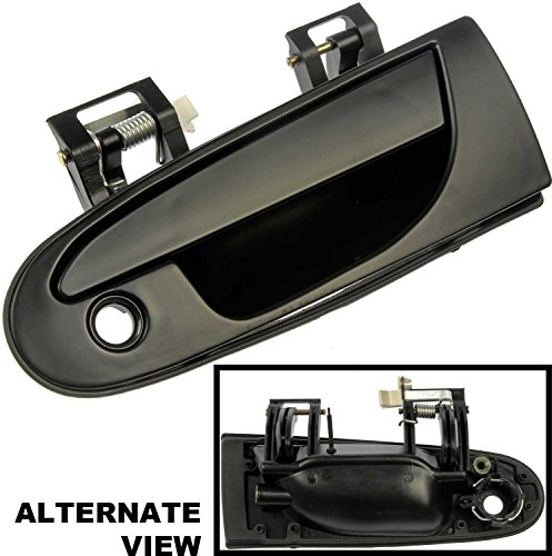 APDTY 88504 Outside Outer Exterior Black Door Handle Left Drivers Side, 1995-1999 Avenger, Sebring Coupe, Eclipse, Talon. Replaces OEM Numbers MB913151, MR712044, MR712050 (1995 Eagle Talon Door Handle compare prices)