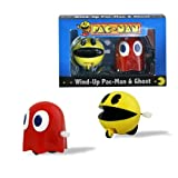 Paladone Retro Pac-man And Ghost Wind-up Racing Characters