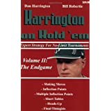 Harrington on Hold 'em: Expert Strategy for No Limit Tournaments: The Endgameby Dan Harrington