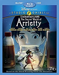 The Secret World of Arrietty (Two-Disc Blu-ray/DVD Combo)