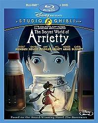 The Secret World of Arrietty [Blu-ray + DVD]