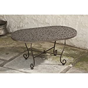Alfresco Home Bolla Oval Coffee Table from Alfresco Home LLC