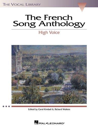 フランス歌曲アンソロジー(高声用)/Kimball,Walters編曲/ハル・レナード社/歌曲