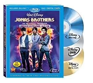 Jonas Brothers: The 3D Concert Experience (Deluxe Extended Movie) (Blu-ray + DVD + Digital Copy) (Sous-titres français)