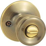 Steel Pro Bed And Bath Lockset-AB CP TULIP PRIVACY LOCK