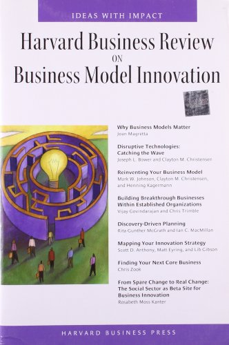 Harvard Business Review on Business Model Innovation Image