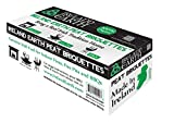 Ireland Earth All Natural Peat Fire Logs from 100% Irish Turf (22-Pack)