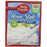 Betty Crocker Home Style Frosting Mix, Fluffy White, 7.2-Ounce Boxes (Pack of 12) ~ Betty Crocker Baking