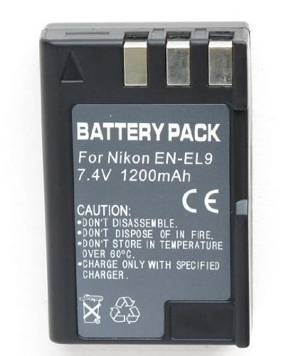 Rechargeable Lithium Ion Battery EN-EL9 ENEL9 For Nikon Digital Cameras D40 D40X D60 D5000