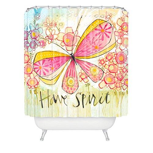 Deny Designs Cori Dantini Have Spirit Shower Curtain front-447858