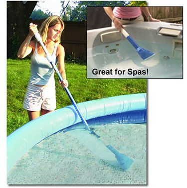 Aqua Broom - Battery Powered - Vacuums Spas And Small Inflatable Pools