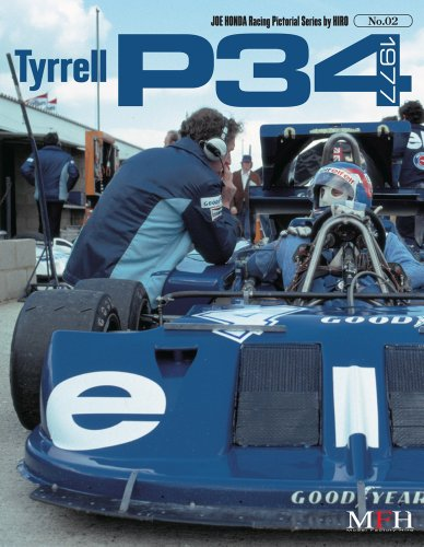 Tyrrell P34 1977 (Joe Honda Racing Pictorial series by HIRO No.2)