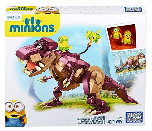 Minions-Dinosaurio-421-piezas-multicolor-Mega-Brands-601161